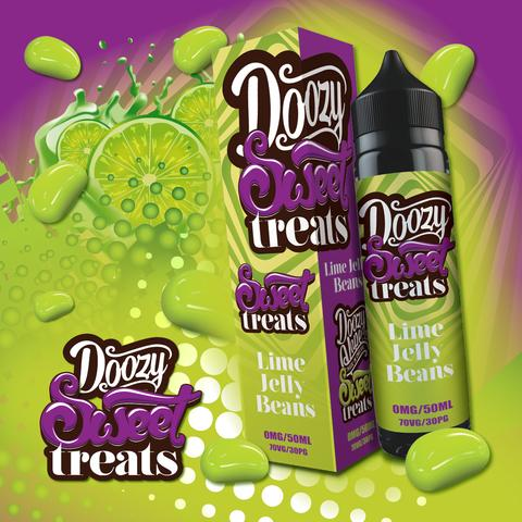 Doozy Vape Sweet Treats - Lime Jelly Beans