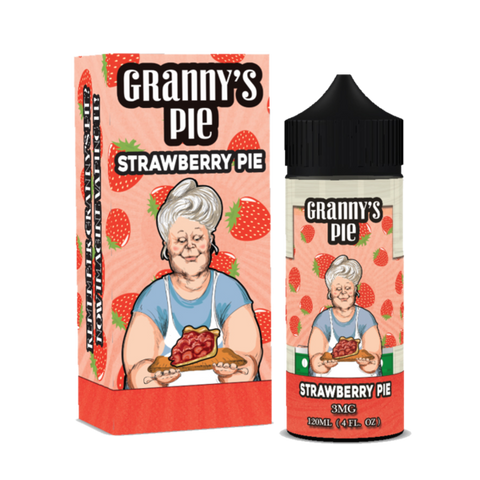 Vape Breakfast Classics - Granny's Pie Strawberry Pie
