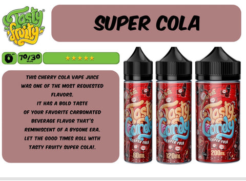 Tasty Candy - Super Cola