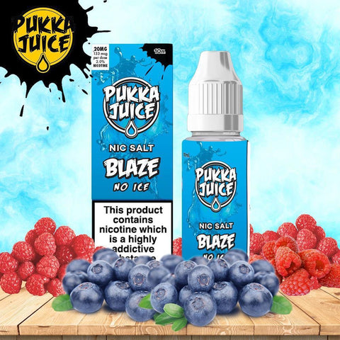 Pukka Juice Salt - Blaze No Ice 10mg / 20mg
