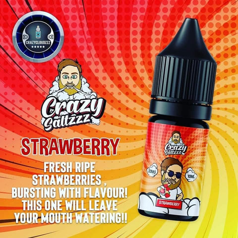 Crazy Saltzzz - Strawberry