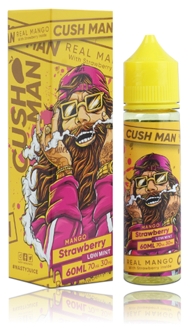 Cush Man Series  By Nasty Juice - Mango And Strawberry