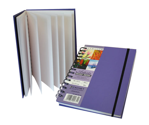 Daler Rowney Cachet Mixed Media Sketchbook Purple