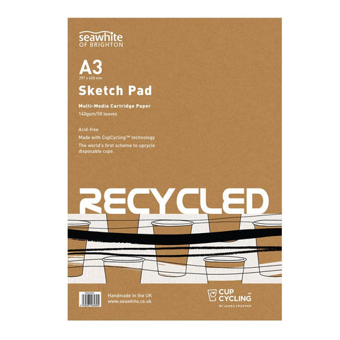 Seawhite A3 Recycled Cup Cycling Sketchpad