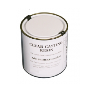 Abacus Clear Casting Resin & Catalyst 1kg