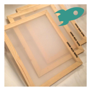 Hunt The Moon Budget Silk Screen Printing Frame 43thread
