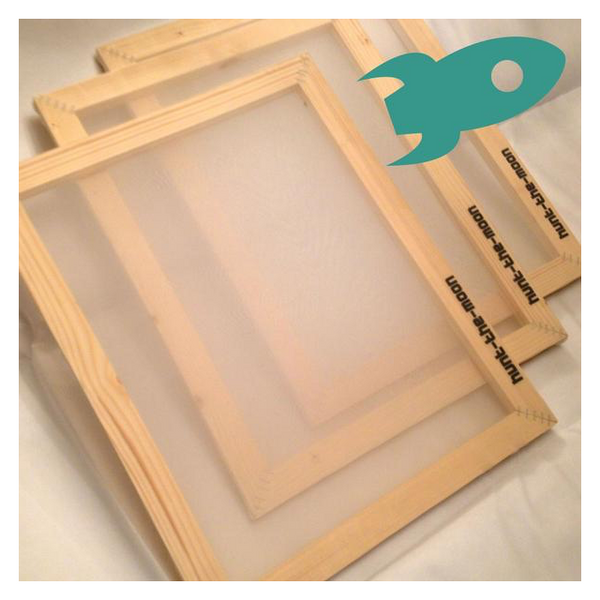 Hunt The Moon Wooden Silk Screen Printing Frame - 90T