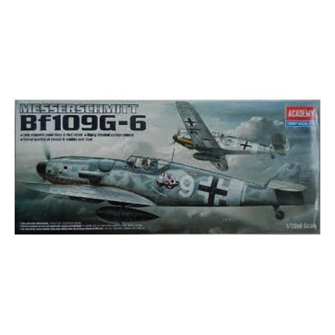 Academy 12467 Messerschmitt Bf109G-6 1:72 Art Materials