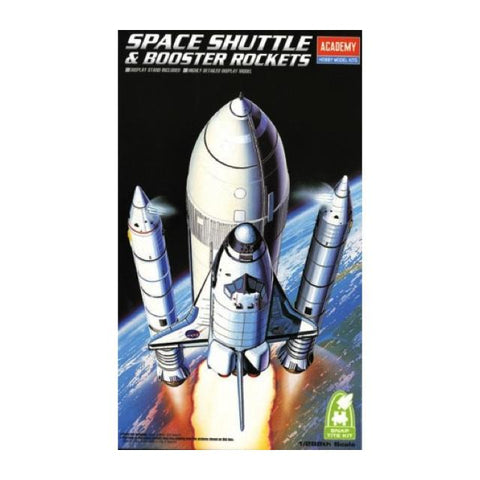 Academy 12707 Space Shuttle & Booster Rockets 1:288 Art Materials