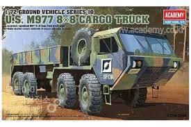 Academy 13412 Us M77 8X8 Cargo Truck 1:72 Art Materials
