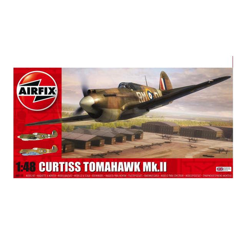 Airfix A05133 Curtiss Tomahawk Mk. Ii 1:48 Art Materials