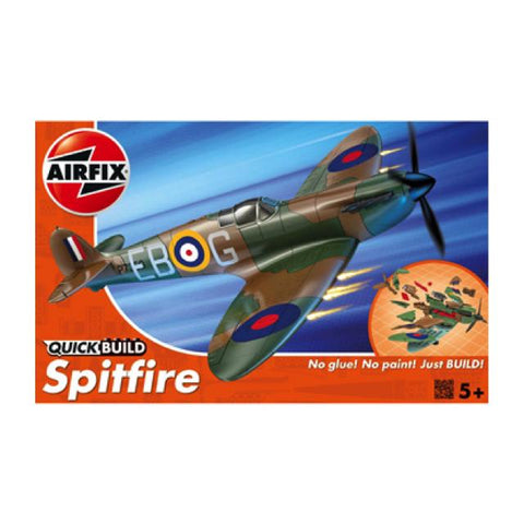 Airfix J6000 Quickbuild Spitfire Art Materials