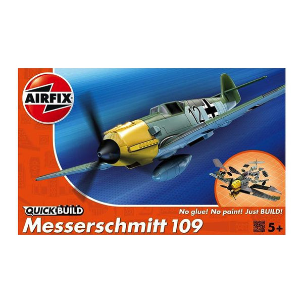 Airfix J6001 Quickbuild Messerschmitt 109 Art Materials