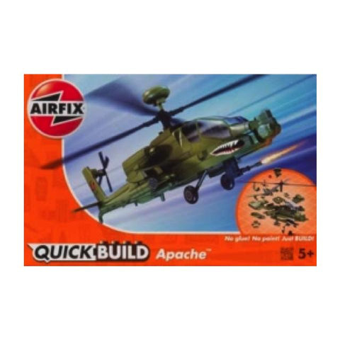 Airfix J6004 Quickbuild Apache Helicopter Art Materials