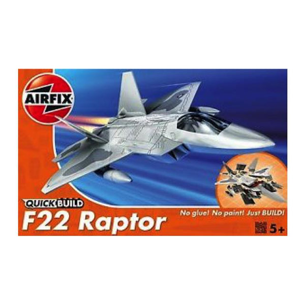 Airfix J6005-1 Quickbuild F-22 Raptor Art Materials