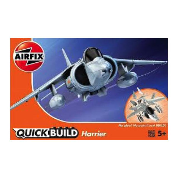 Airfix J6009 Quickbuild Harrier Jet Art Materials