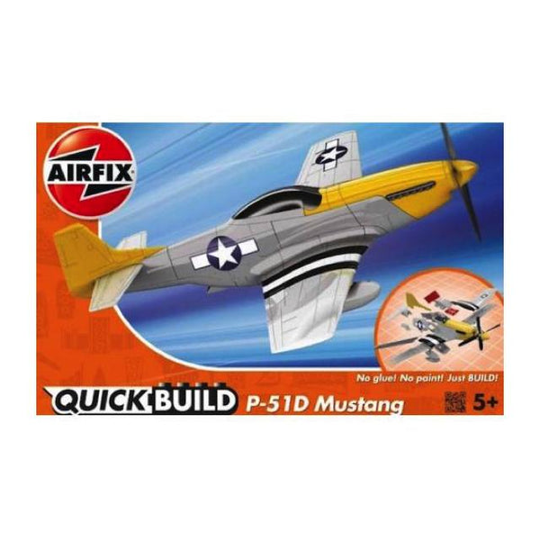 Airfix J6016 Quickbuild P-51D Mustang Art Materials