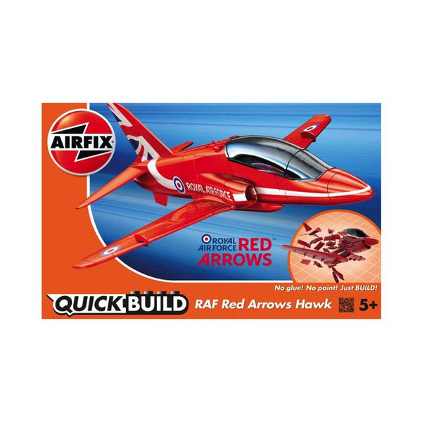 Airfix J6018 Quickbuild Raf Red Arrows Hawk Art Materials