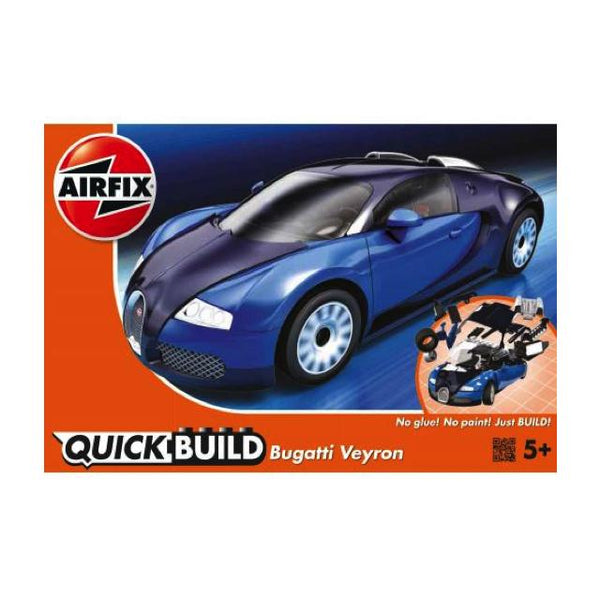 Airfix J6020 Quickbuild Bugatti Veyron 16.4 Art Materials
