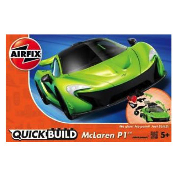 Airfix J6021 Quickbuild Mclaren P1 Art Materials