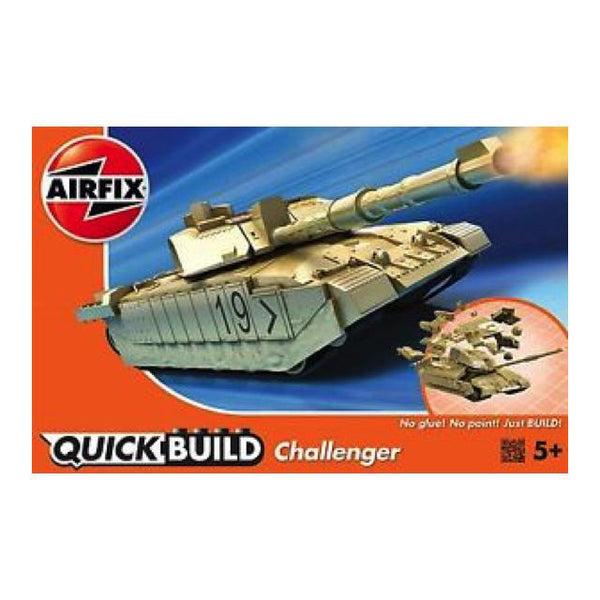 Airfix J6022 Quickbuild Challenger Tank Art Materials