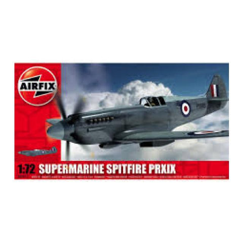 Airfix Supermarine Spitfire Pr Xix Kit - 1:72 A02017A Art Materials