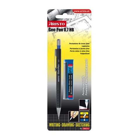 Aristo Geo-Pen Mechanical Pencil - Hb Carded Art Materials