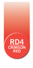 Chameleon Pen Crimson Red Rd4 Art Materials