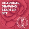 Charcoal Drawing Starter Set Art Materials