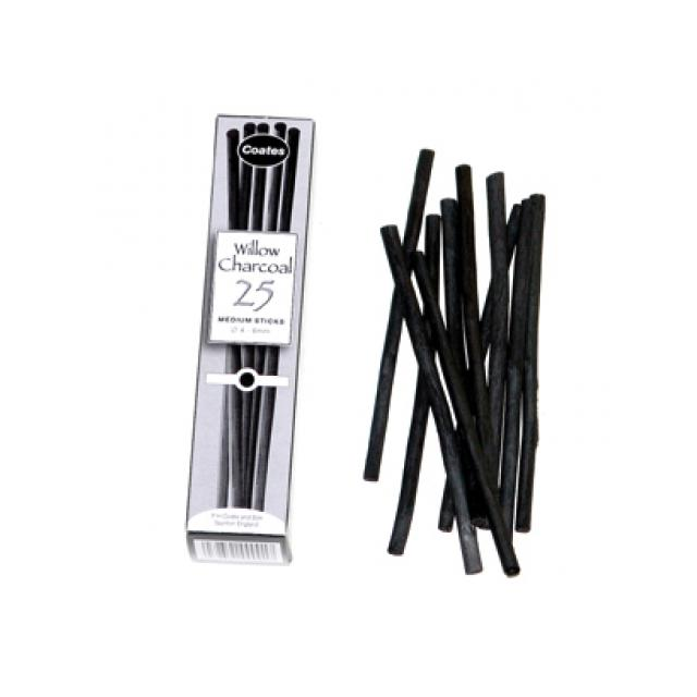 Coates Willow Charcoal Medium Art Materials