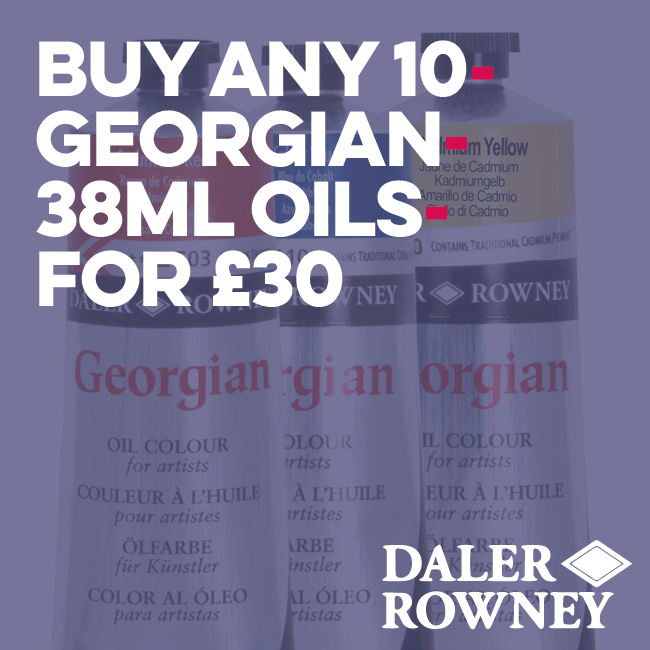 Daler Rowney Georgian Oil Colour 38Ml Art Materials