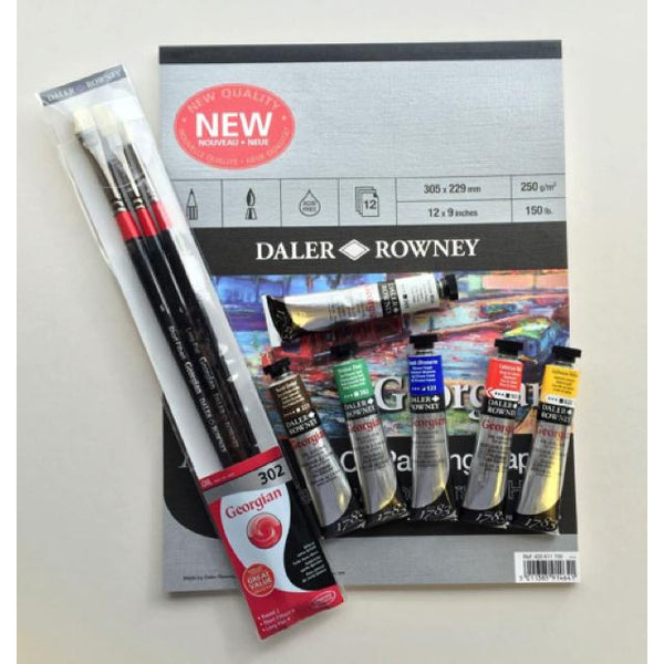 Daler Rowney Georgian Oil Colour Artists Gift Set Art Materials