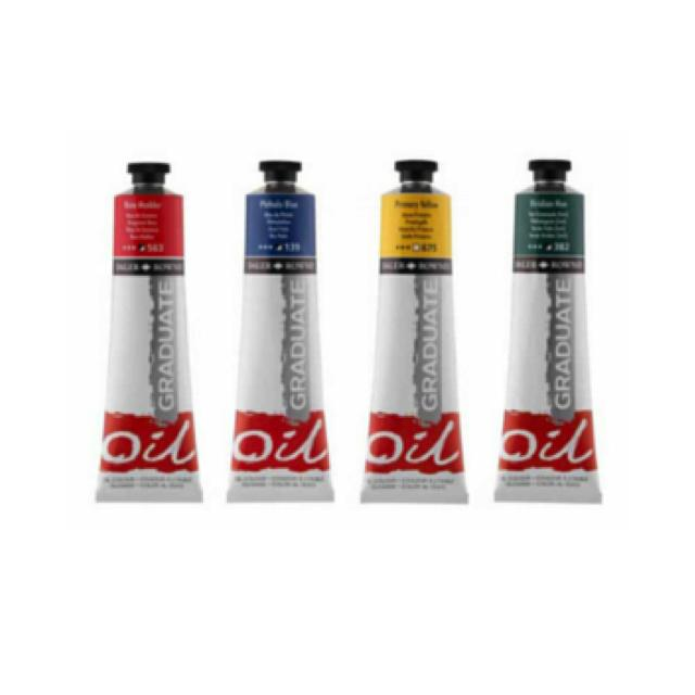 Daler Rowney Graduate Oil Colour 200Ml Art Materials