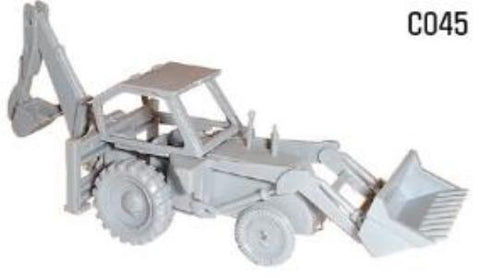 Dapol Jcb Digger Kit - 00 Scale C045 Art Materials