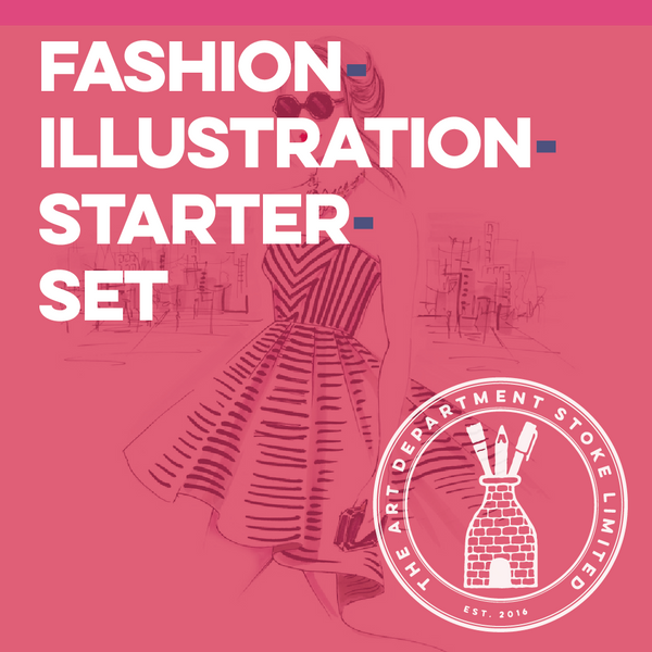 Fashion Illustration Starter Set Art Materials