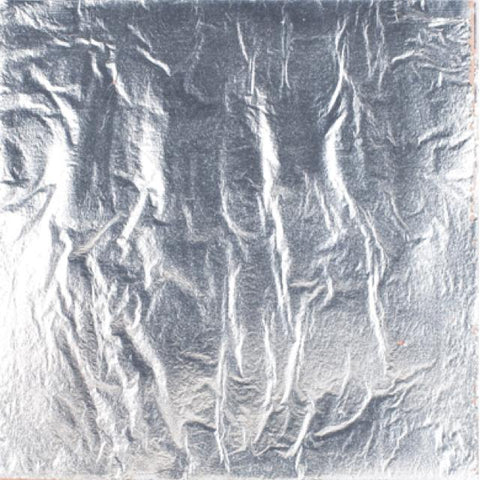 Fimo Leaf Metal - 14X14Cm 10 Sheet Pack Silver Art Materials