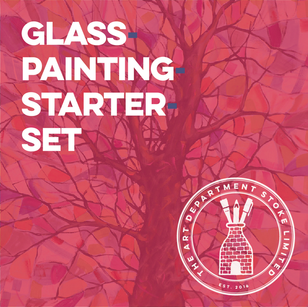 Glass Painting Starter Set Art Materials