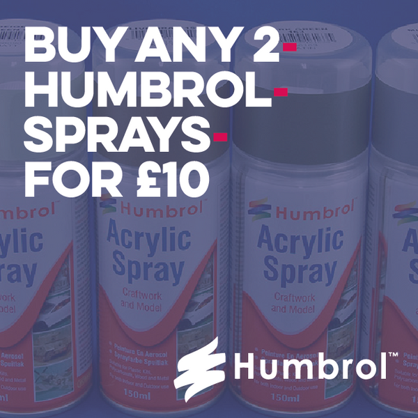 Humbrol Acrylic Spray 150Ml Art Materials