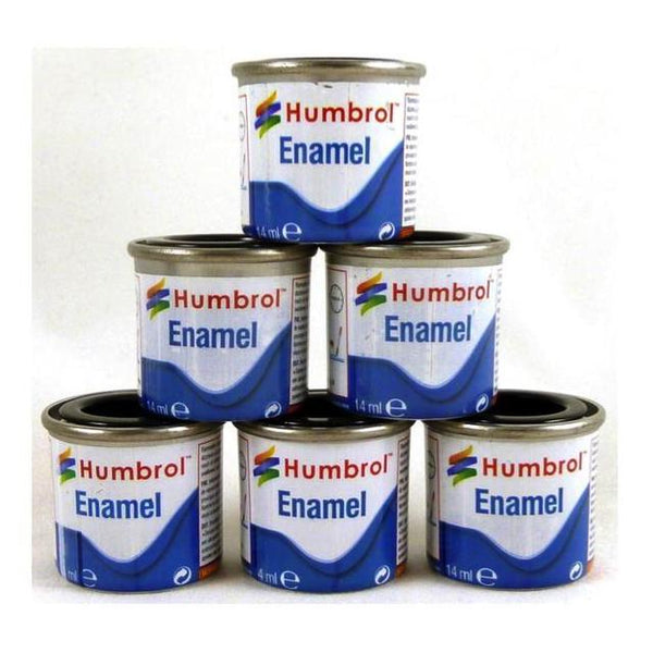 Humbrol Enamel Satin Tinlet 14Ml Art Materials