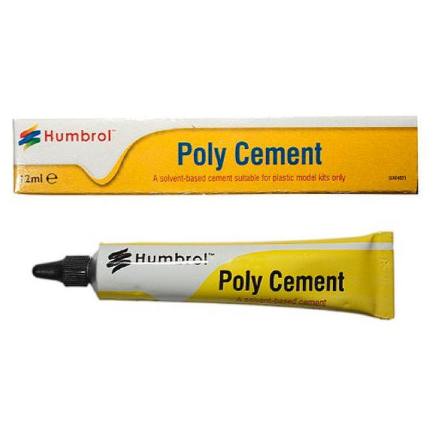 Humbrol Poly Cement - 12Ml Art Materials