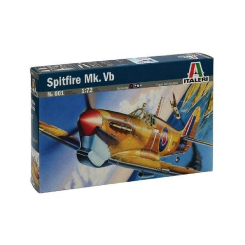 Italeri 094 Spitfire Mk. Vb 1:72 Art Materials