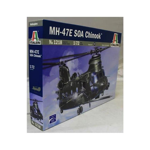 Italeri 1218 Mh-47E S0A Chinook 1:72 Art Materials