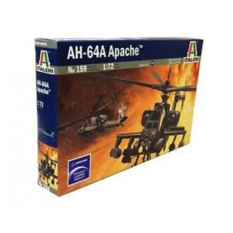 Italeri 159 Ah-64A Apache Helicopter 1:72 Art Materials