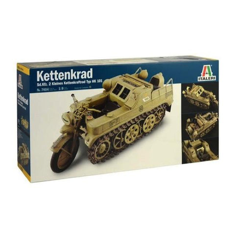 Italeri Kettenkrad Military Motorcycle Kit - 1:9 It7404 Art Materials