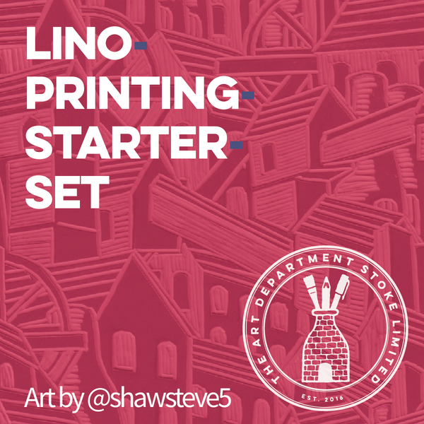 Lino Printing Starter Kit Art Materials