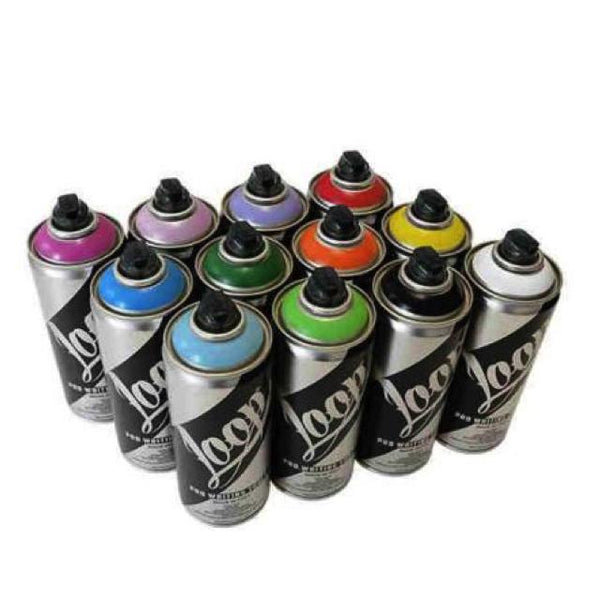 Loop 400Ml Can - Fluorescent Colours Art Materials