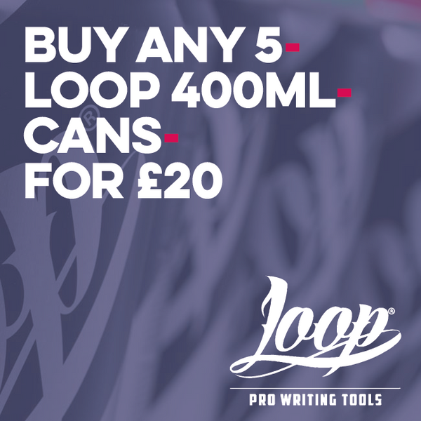 Loop 400Ml Can Art Materials