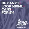 Loop 600Ml Can Art Materials