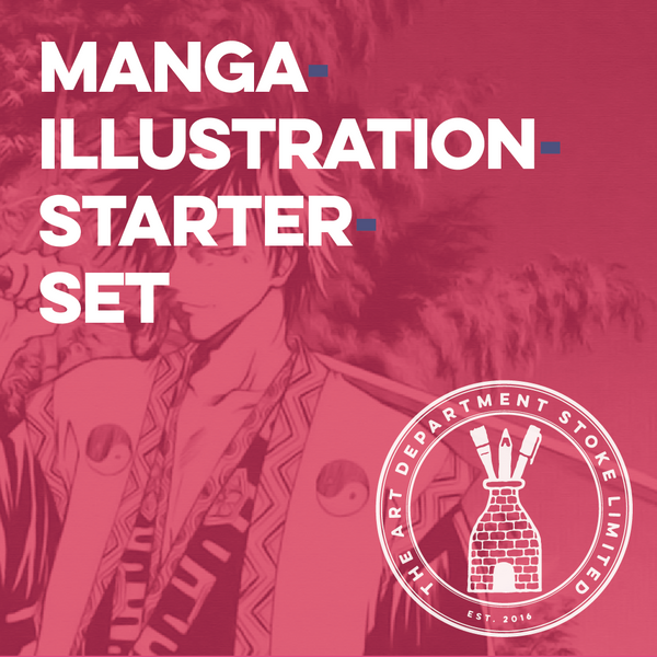Manga Illustration Starter Set Art Materials