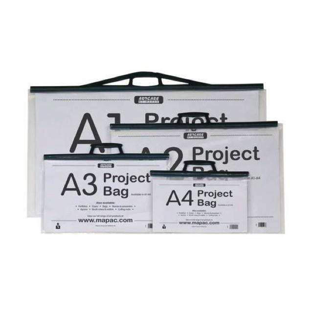 Mapac A2 Project Bag With Handle Art Materials